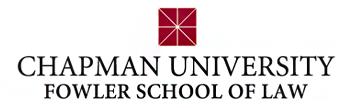 Chapman University Dale E. Fowler School of Law