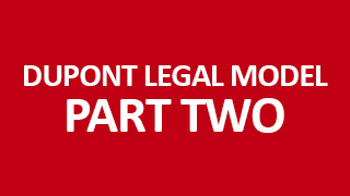 Dupont Legal Model Part 2