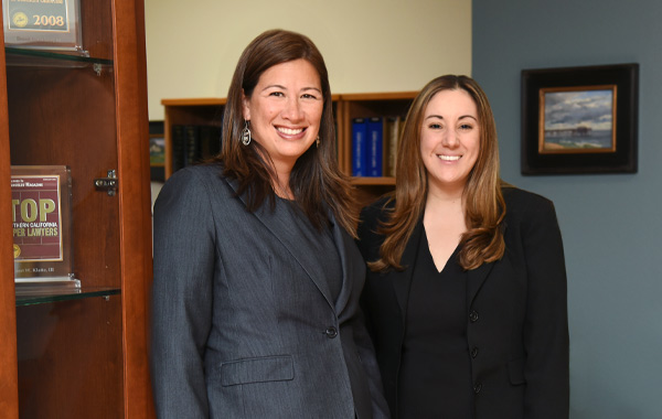 Summer Young-Agriesti and Ana Thomas, attorneys at KBY Law
